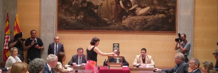 Discurs d'investidura de la diputada Laia Pèlach de la CUP a la Diputació de Girona