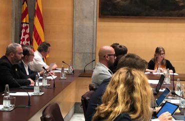 La Diputació de Girona aprova la moció de rebuig a la sentència del procés, amb els vots en contra del PSC
