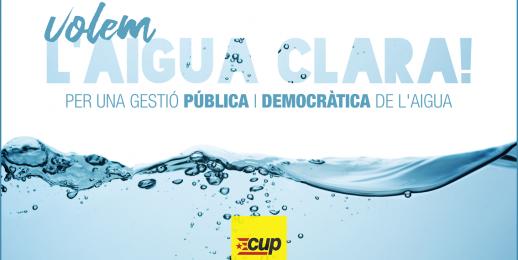 Volem l'aigua clara!