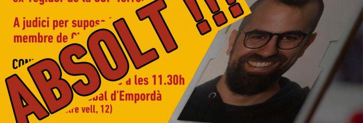 L'Audiència de Girona desestima el recurs de Cs i confirma l'absolució de l'ex-regidor cupaire Robert Huertas