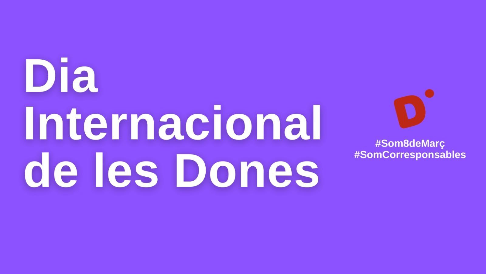 La Diputació de Girona veta el missatge de la CUP pel 8 de març
